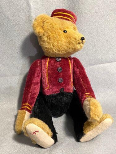 Bellhop Mohair Teddy Bear 1980s