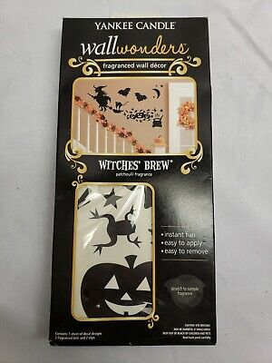 Halloween Yankee Candle Wall Wonders Witches Brew Fragrance Wall Decor NIB