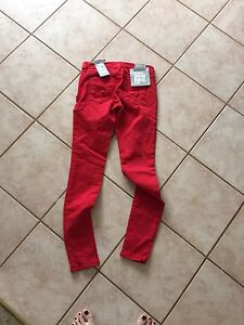 Red bench jeans