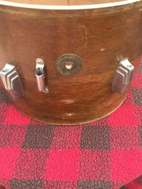 Vintage 10x14 Pan American/ Conn Ludwig Marching snare drum 3PLY