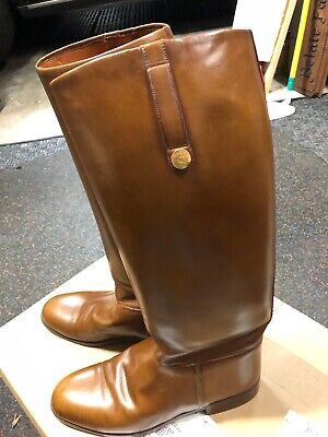 Vintage Men's Gucci High Riding Boots—Size 10.5