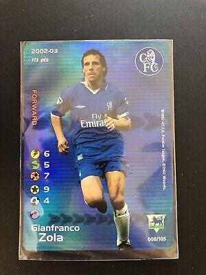Football Champions 2002/03 ENG Holo ZOLA Card Pack Fresh Premier League