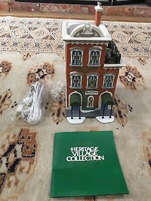 Dept 56 Ivy Terrace Apartments, Christmas in the City Series 1995 in Box