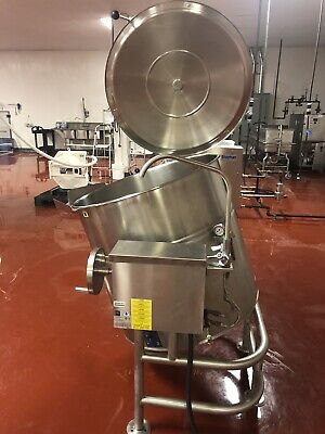 Cleveland 80 Gallon Electric Steam Kettle With 2 Valve Used Clean