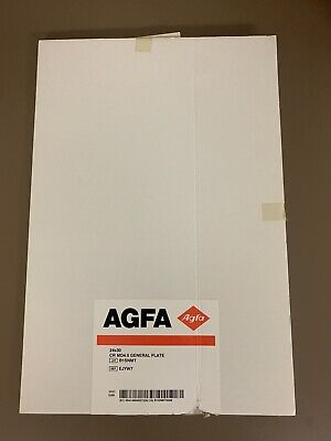 New Agfa Plate For Cassette 4.0 General 24x30
