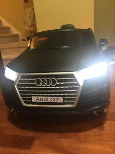 Audi Q7 with remote control