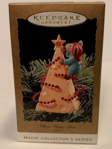 Hallmark Keepsake Ornament Chris Mouse Tree