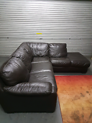 Leather couch Pascoe Vale Moreland Area Preview