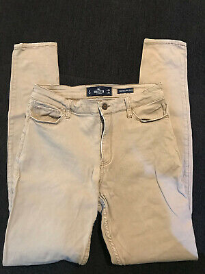 Hollister Tan Skinny Jeans/Pants Size 7