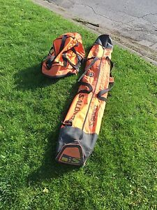Skis and Boot Bag