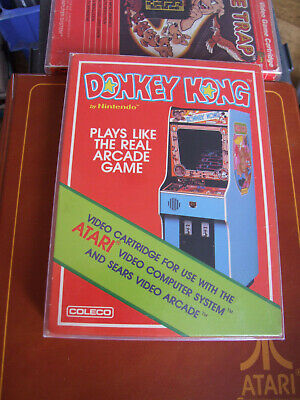 APR ATARI 2600 OFFERS/COMBINE PROTECTIVE BOXED - DONKEY KONG