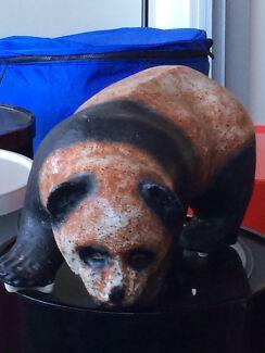 Clay panda sculpture  Mosman Mosman Area Preview