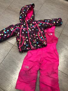 The North Face 2T snowsuit