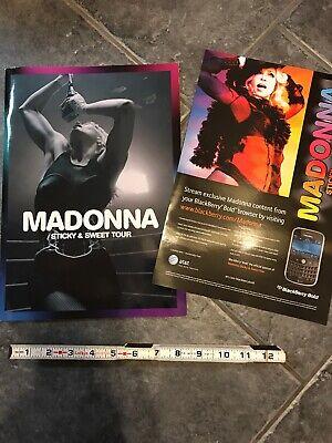 Usado, MADONNA STICKY&SWEET Tour Program Book  comprar usado  Enviando para Brazil