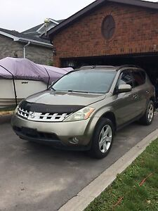 NISSAN MURANO FOR SALE OR TRADE