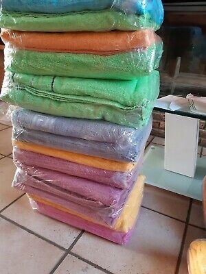 Lot de 3 draps de bain de 140/70, 150/90 avec différents coloris disponible