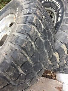 "16"" factory GM rims with rubber."