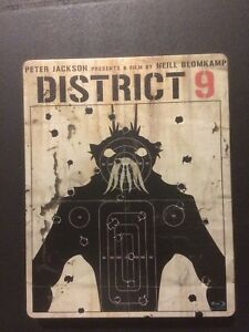 District 9 blu-ray steelbook