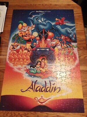 WALT DISNEY ALADDIN 300 PIECE MOVIE POSTER PUZZLE - Size 2'×3'