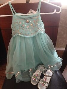 Toddler dress & shoes