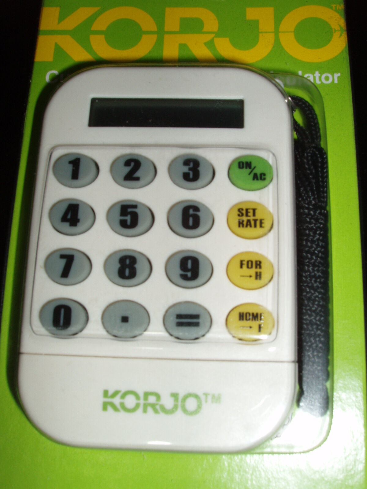 Korjo CC78 Worldwide Travel Foreign Currency World Money Converter & Calculator | eBay