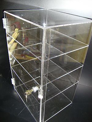 Acrylic Countertop Display Case 12 X 8 X 19 Locking Security Show Case Safe B
