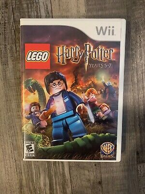 LEGO Harry Potter: Years 5-7 (Nintendo Wii, 2011) (Includes Manual)