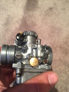 Carburetor cleaning and polish.