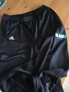 Men's Adidas Warm-up Pants - Size L - SLAM