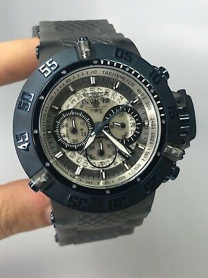 24371 Invicta Subaqua Noma III Transparent ANATOMIC Dial Blu/GRY Poly Watch