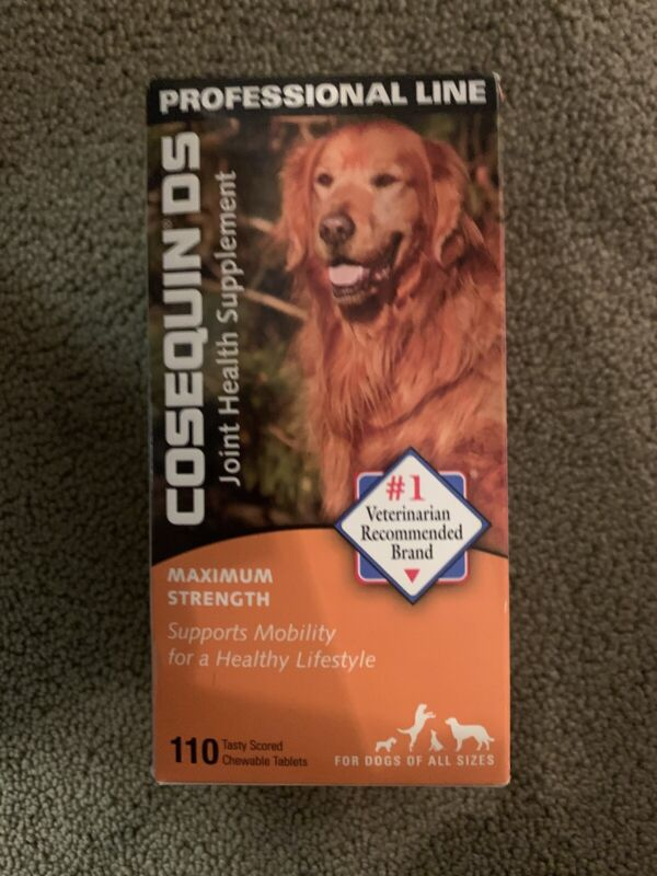 Cosequin DS Maximum Strength Joint Health Supplement 110 Tablets Chewable