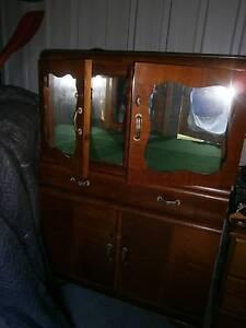 Antique/retro drinks cabinet timber veneer Haberfield Ashfield Area Preview