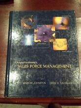 Sales Force Management, 9th Ed. University Textbook Bella Vista The Hills District Preview