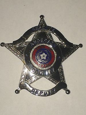 Obsolete Texas Anderson County Deputy Sheriff (HMK) Police Badge