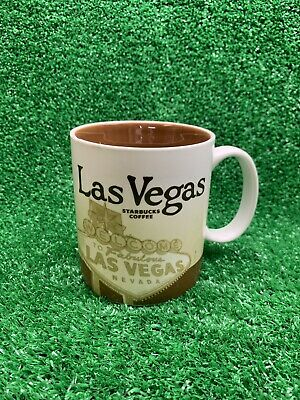 Starbucks Las Vegas Coffee Mug Cup Collector City Series Global Icon 16 oz