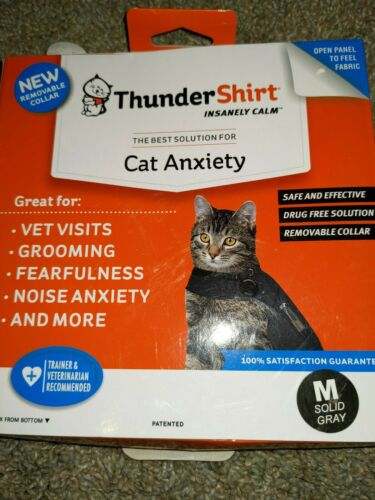Thundershirt T02-HGM for Cat Anxiety - Color: ...