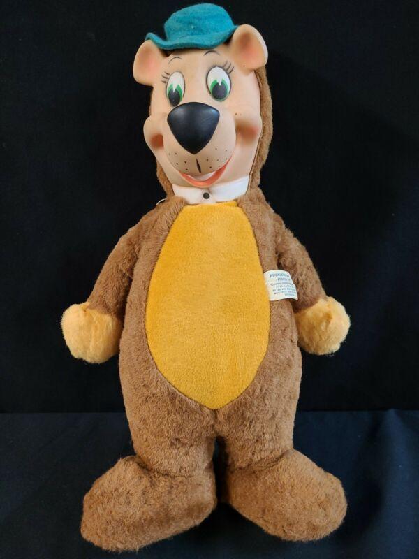 "VINTAGE 1959 YOGI BEAR  18"" Stuffed Plush Doll by Knickerbocker"