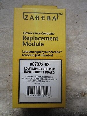 Zareba Electric Fence 07072-92 Replacement Module Circuit Board