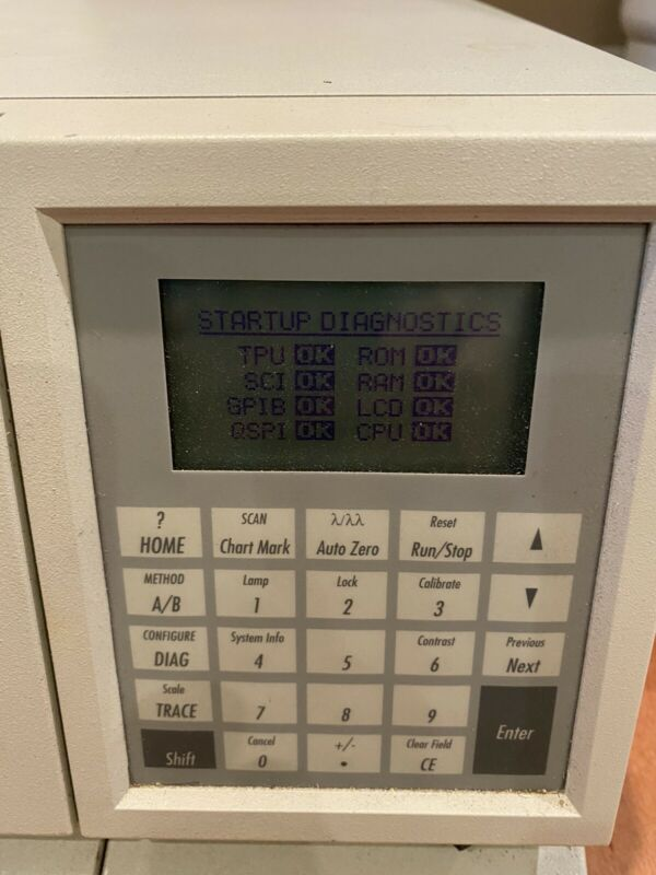 Waters 2487 Dual Absorbance Detector Working Condition. Excellent