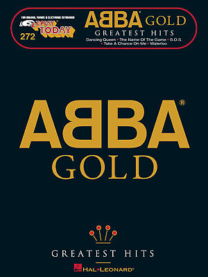 ABBA Gold Greatest Hits EZ Play Today Vol 272 Easy Piano Keyboard Book