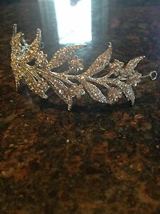 Wedding/graduation Rhinestone Headband