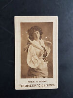 Richmond Cavendish 1904 Cigarette Tobacco Card Actresses Gravure - Miss A Rowe - richmond cavendish - ebay.co.uk