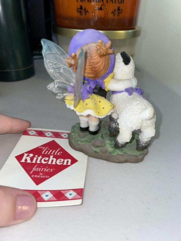 my little kitchen fairies Happy Easter Lamb and Fairy