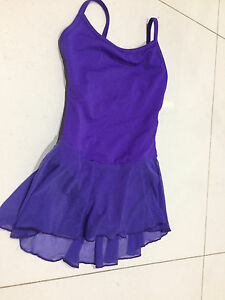 AMMA School of Dance leotard with skirt size 6-8 Free ballet tights McDowall Brisbane North West Preview
