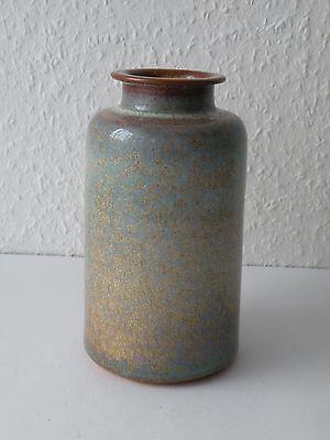 ZAALBERG Keramikvase Kristallglasur Niederlande