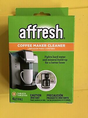 3-Pack Affresh Coffee Maker Brewer Cleaner, Mineral Build-Up - Keurig - Powerful