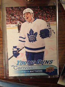 Auston Matthews Canvas Young Guns