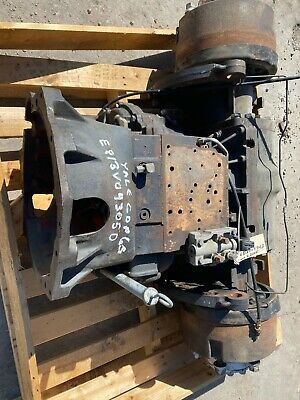 Yale Gdp060vx Forklift Transmission And Differential