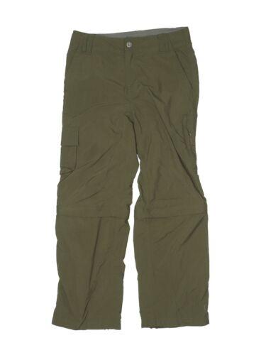 REI  Boys Co-Op Sahara Convertible Hiking Pants Size Small 8 Green Outdoor Cargo