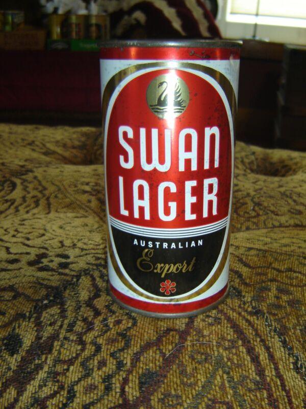 Vintage Rare Nice Swan Lager Australian Export  Flat Top Beer Can